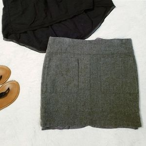 *Free* American Eagle wool skirt